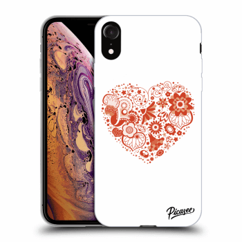 Hülle für Apple iPhone XR - Big heart
