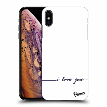 Hülle für Apple iPhone XS Max - I love you