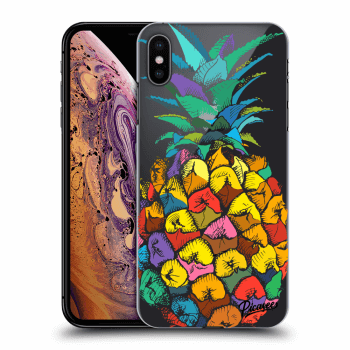 Hülle für Apple iPhone XS Max - Pineapple