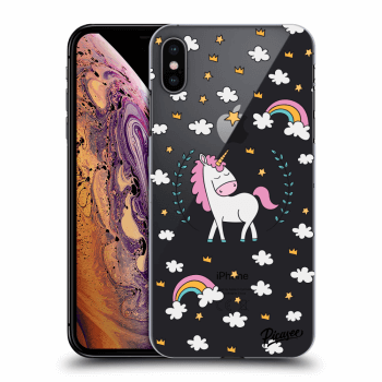 Hülle für Apple iPhone XS Max - Unicorn star heaven