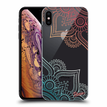 Hülle für Apple iPhone XS Max - Flowers pattern