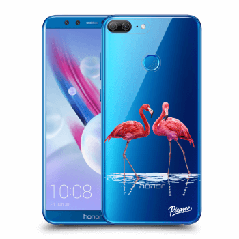 Hülle für Honor 9 Lite - Flamingos couple