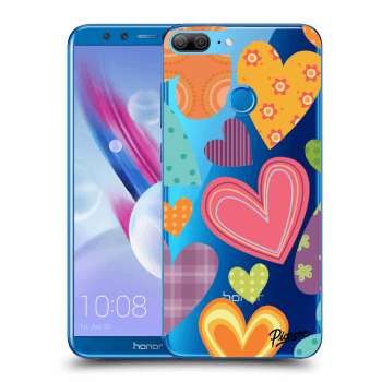 Hülle für Honor 9 Lite - Colored heart