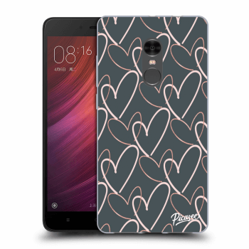 Picasee Xiaomi Redmi Note 4 Global LTE Hülle - Transparentes Silikon - Lots of love