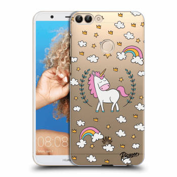 Hülle für Huawei P Smart - Unicorn star heaven