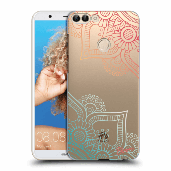 Hülle für Huawei P Smart - Flowers pattern