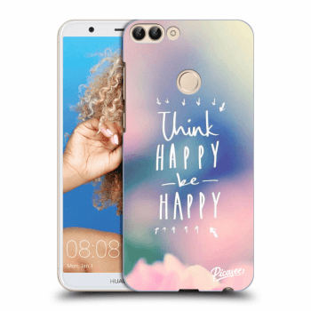 Hülle für Huawei P Smart - Think happy be happy