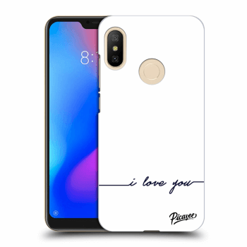 Hülle für Xiaomi Mi A2 Lite - I love you