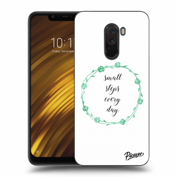Hülle für Xiaomi Pocophone F1 - Small steps every day