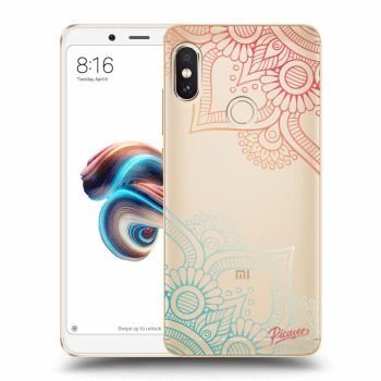 Hülle für Xiaomi Redmi Note 5 Global - Flowers pattern