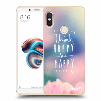Hülle für Xiaomi Redmi Note 5 Global - Think happy be happy
