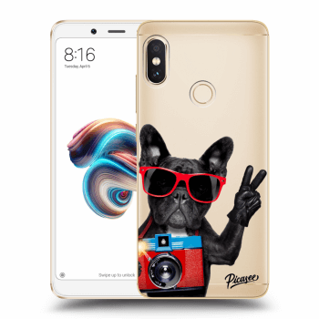 Hülle für Xiaomi Redmi Note 5 Global - French Bulldog