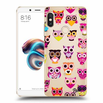Hülle für Xiaomi Redmi Note 5 Global - Owls