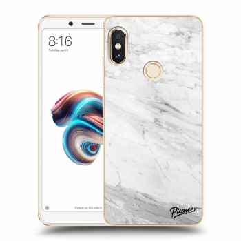 Hülle für Xiaomi Redmi Note 5 Global - White marble
