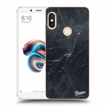 Hülle für Xiaomi Redmi Note 5 Global - Black marble