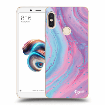 Hülle für Xiaomi Redmi Note 5 Global - Pink liquid