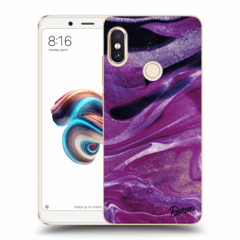 Hülle für Xiaomi Redmi Note 5 Global - Purple glitter