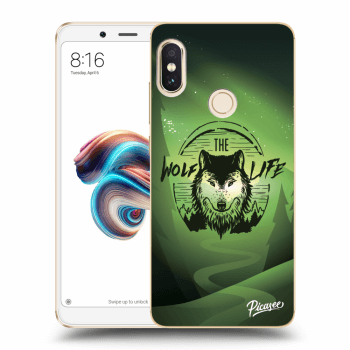 Hülle für Xiaomi Redmi Note 5 Global - Wolf life