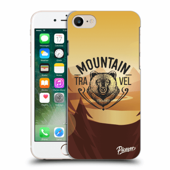Picasee Apple iPhone 7 Hülle - Transparentes Silikon - Mountain bear