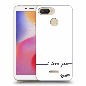 Hülle für Xiaomi Redmi 6 - I love you