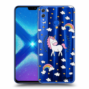 Hülle für Honor 8X - Unicorn star heaven
