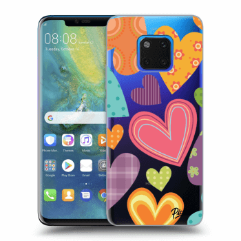 Hülle für Huawei Mate 20 Pro - Colored heart