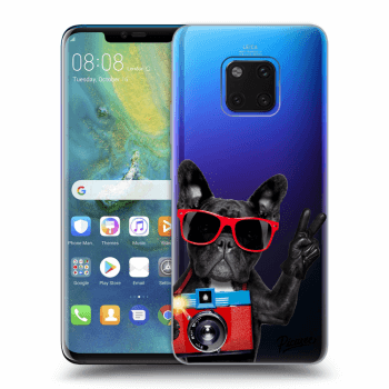 Hülle für Huawei Mate 20 Pro - French Bulldog