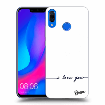 Hülle für Huawei Nova 3 - I love you