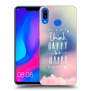 Hülle für Huawei Nova 3 - Think happy be happy
