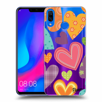 Hülle für Huawei Nova 3 - Colored heart
