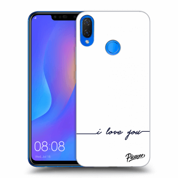 Hülle für Huawei Nova 3i - I love you