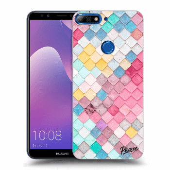 Hülle für Huawei Y7 Prime (2018) - Colorful roof