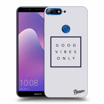 Hülle für Huawei Y7 Prime (2018) - Good vibes only
