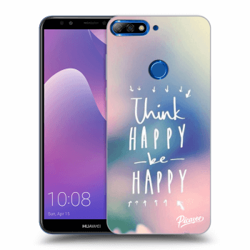 Hülle für Huawei Y7 Prime (2018) - Think happy be happy