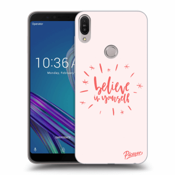 Hülle für Asus ZenFone Max Pro (M1) ZB602KL - Believe in yourself