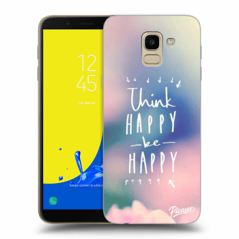Hülle für Samsung Galaxy J6 J600F - Think happy be happy