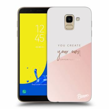Hülle für Samsung Galaxy J6 J600F - You create your own opportunities