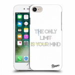 Picasee Apple iPhone 8 Hülle - Transparentes Silikon - The only limit is your mind