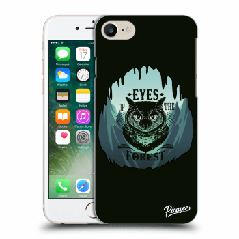 Picasee Apple iPhone 8 Hülle - Transparentes Silikon - Forest owl