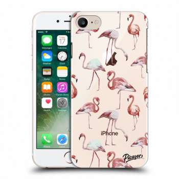 Hülle für Apple iPhone 8 - Flamingos