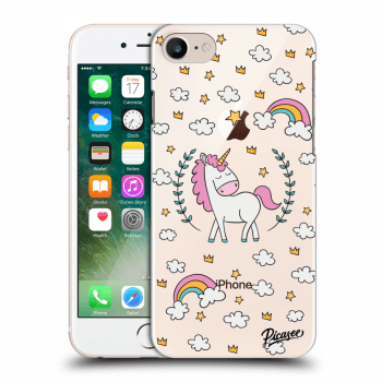 Hülle für Apple iPhone 8 - Unicorn star heaven