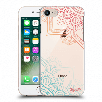 Hülle für Apple iPhone 8 - Flowers pattern