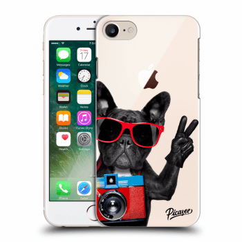 Hülle für Apple iPhone 8 - French Bulldog