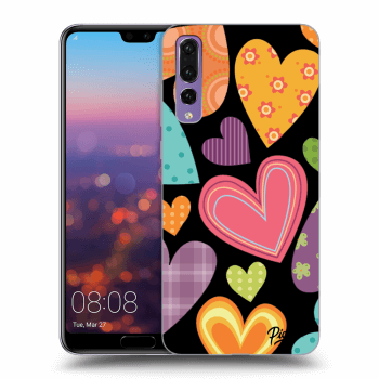 Hülle für Huawei P20 Pro - Colored heart
