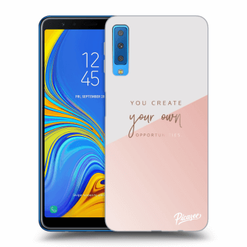 Hülle für Samsung Galaxy A7 2018 A750F - You create your own opportunities