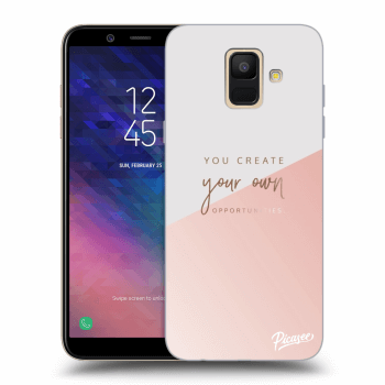 Hülle für Samsung Galaxy A6 A600F - You create your own opportunities