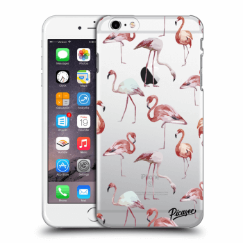 Hülle für Apple iPhone 6 Plus/6S Plus - Flamingos