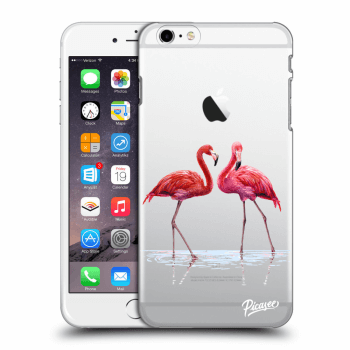 Hülle für Apple iPhone 6 Plus/6S Plus - Flamingos couple