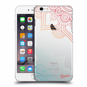 Hülle für Apple iPhone 6 Plus/6S Plus - Flowers pattern