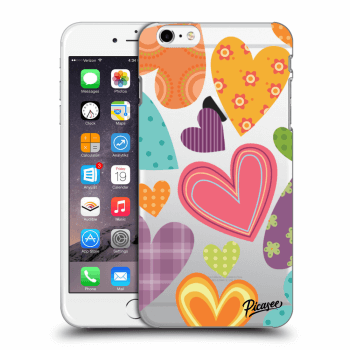 Hülle für Apple iPhone 6 Plus/6S Plus - Colored heart